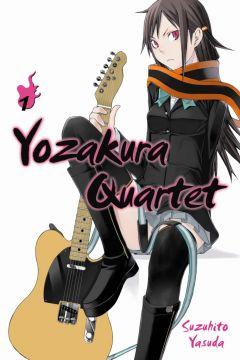 Anime Manga Yozakura Quartet
